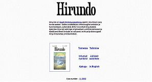 Hirundo 1999-2003