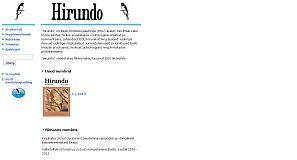 Hirundo 2003-2014