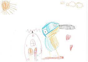 4. koht, Ete Raasik, 4-aastane