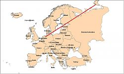 Siberi / Ida-Atlantise rändekoridor